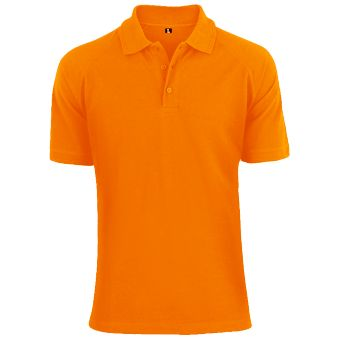 Orange Polo Shirt for Men