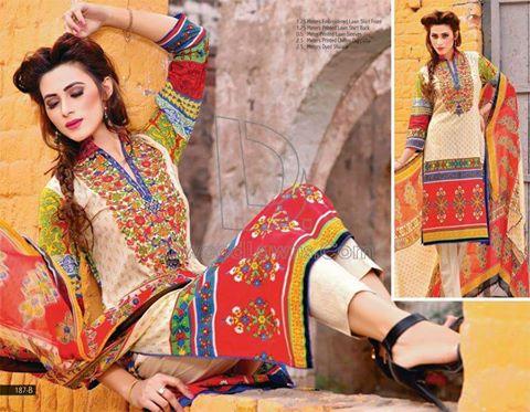 Dawood Zara Sara Embroidered Lawn 2016