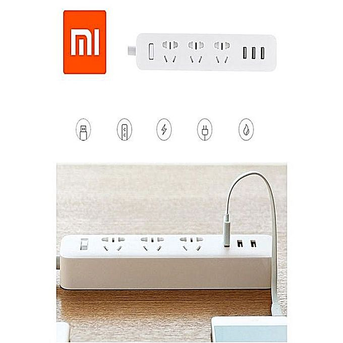 Mi Power Strip Socket Of The Art 3 USB Charging Port