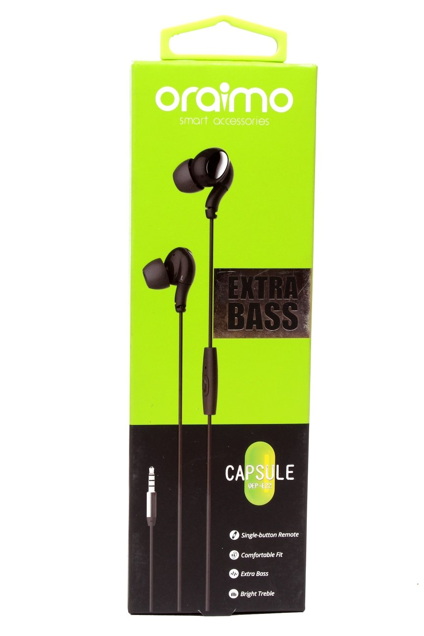 Original Extra Bass Capsule Earphones with product authentication code_2
