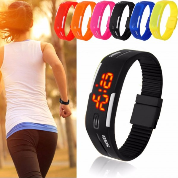Wrist Band LED Digital Watch