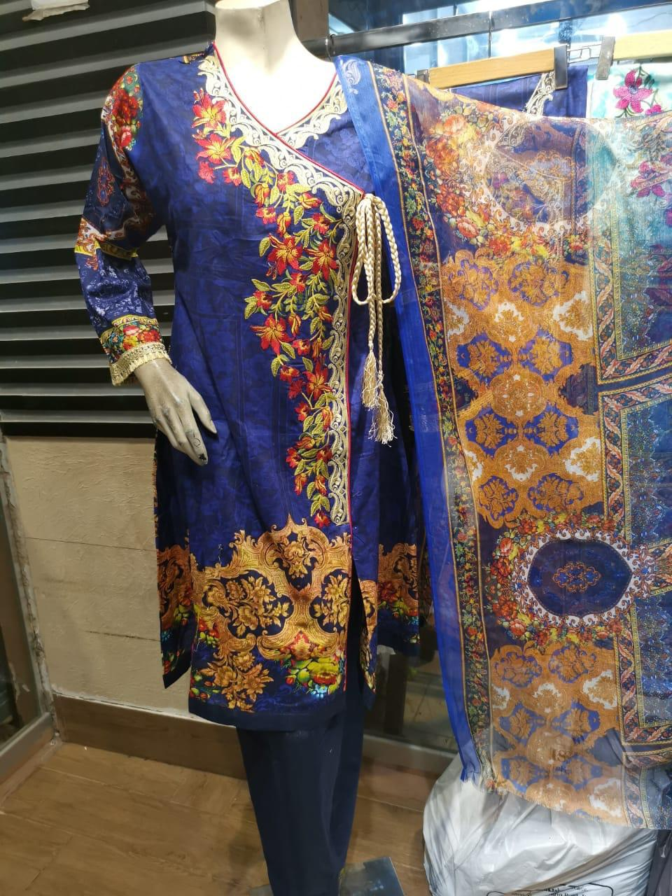 Embroidered Lawn Suits