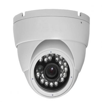 Infrared CCD Camera Dome CCTV, 600 TVL
