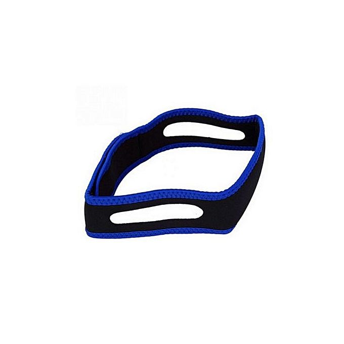 Anti Snore Chin Strap - Black_1