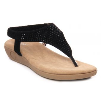 Women Casual Flat Thong Slippers - L24273