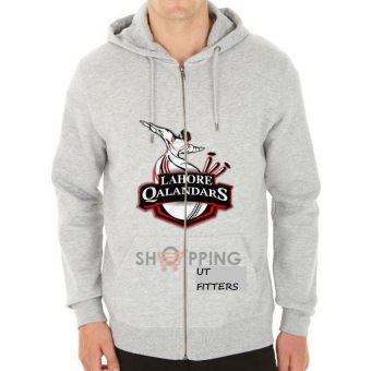 Lahore Qalandar Pakistan Super League Hoodie - Grey