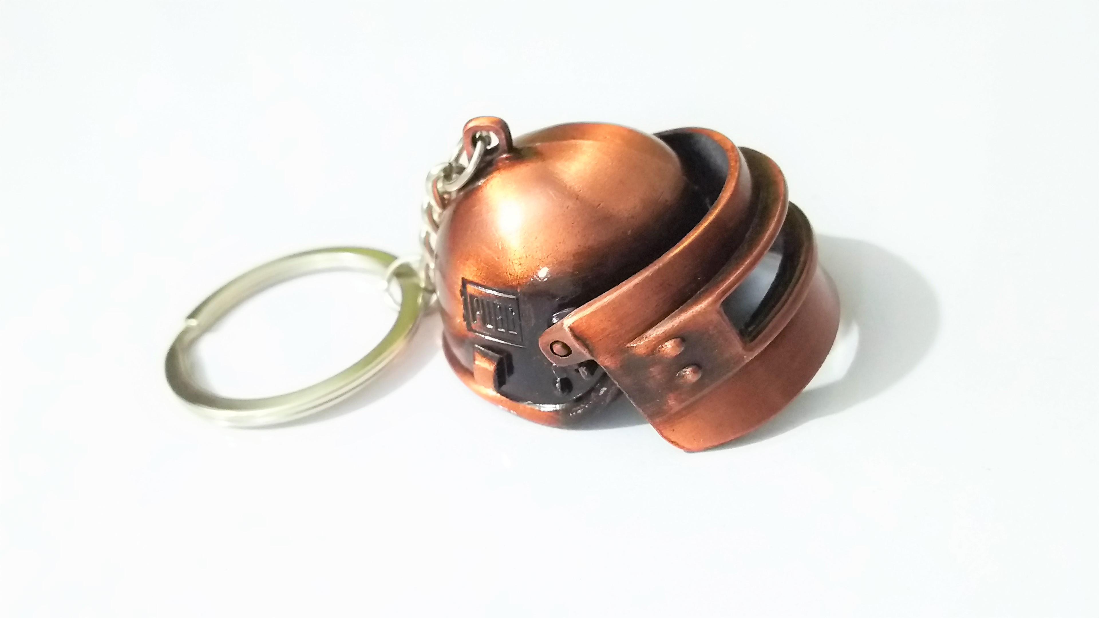Orange Helmet - PUBG level 3 - Key Chain