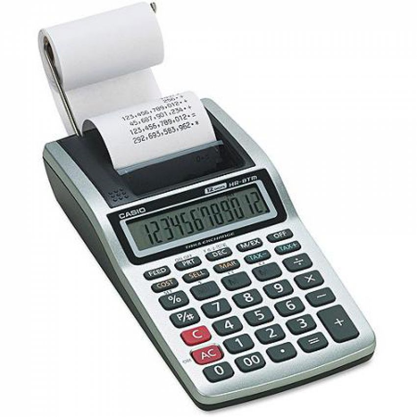 Casio Printing Calculator HR8Tm
