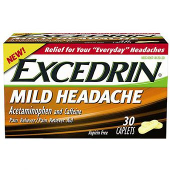 Excedrin Mild Headache 30count Imported from USA