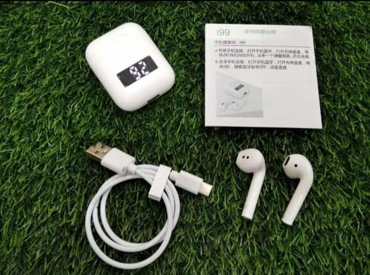 i99 TWS Wireless Bluetooth Earbuds