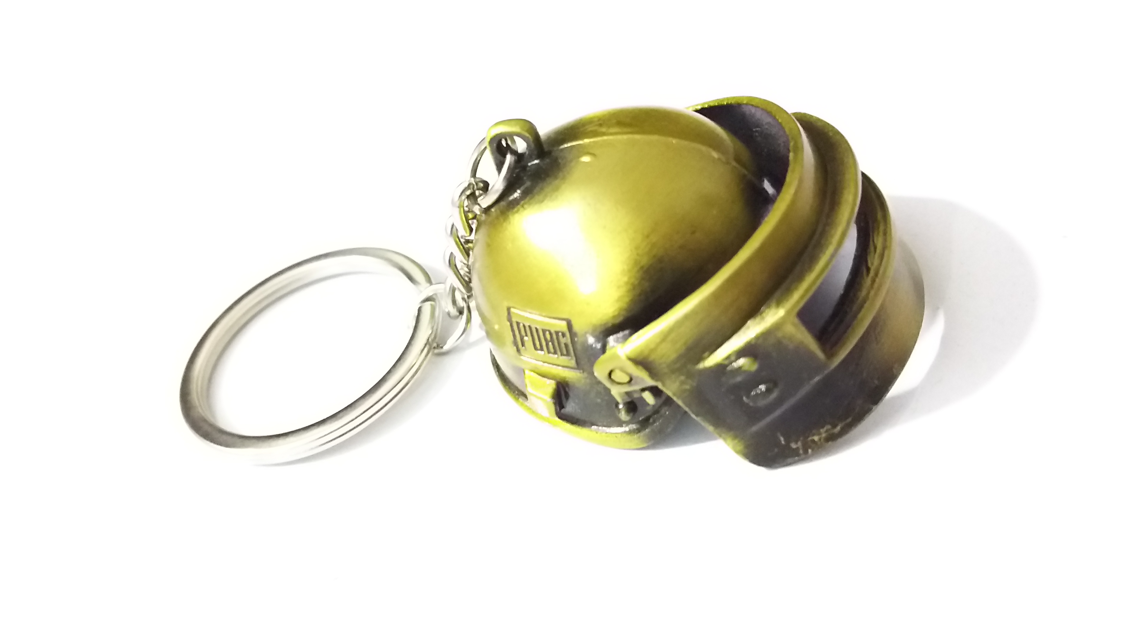 GOLDEN - PUBG  LEVEL 3 - HELMET Key Chain