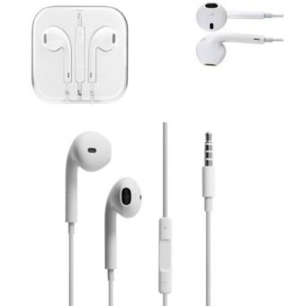 Pack Of 2 iPhone Handsfree - White_1