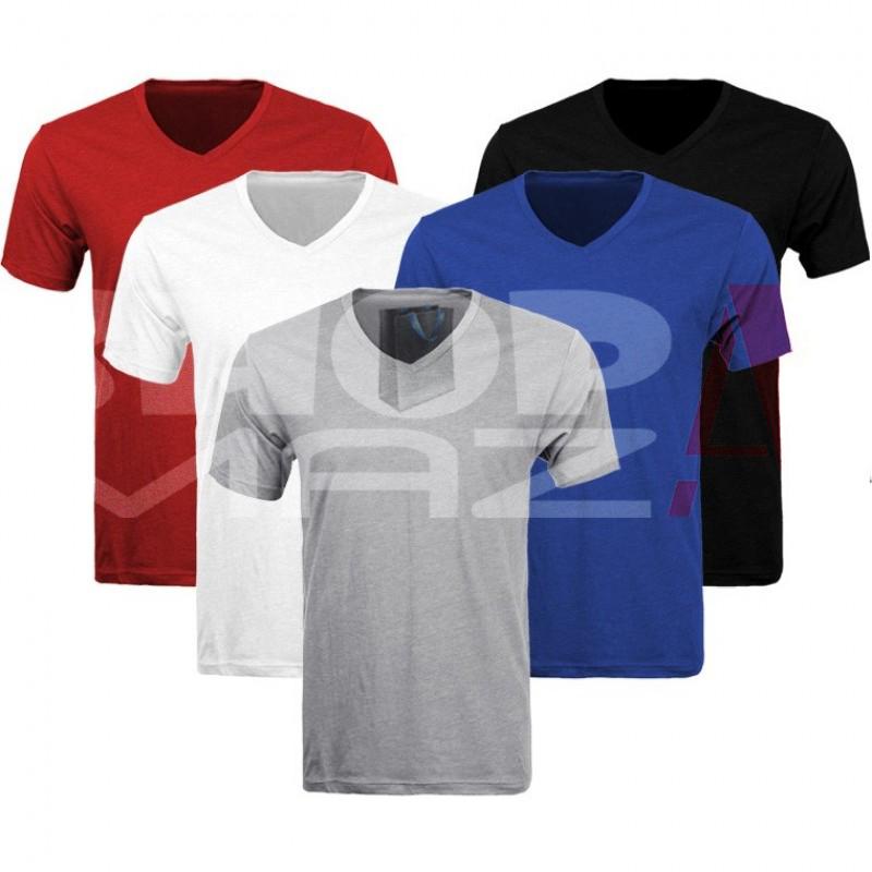 5 V-Neck T-Shirts Deal