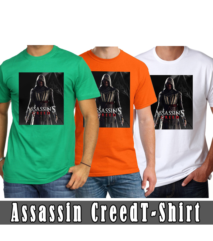 Assassin Creed Round Neck T-Shirts