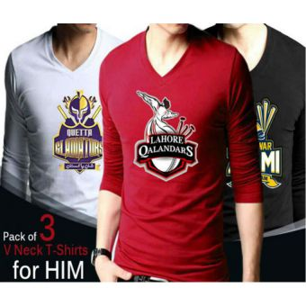 Pack Of 3 Psl TShirts For Him