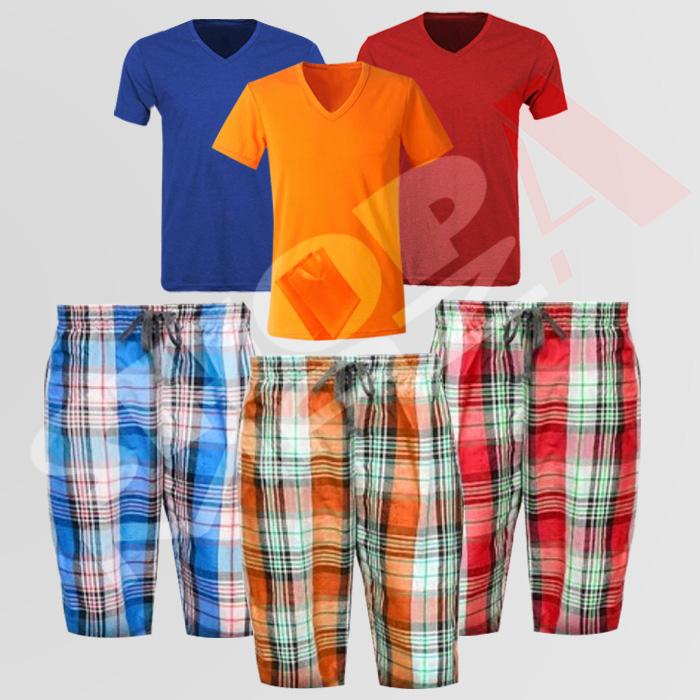 3 Tees + 3 Shorts/Pajamas Deal