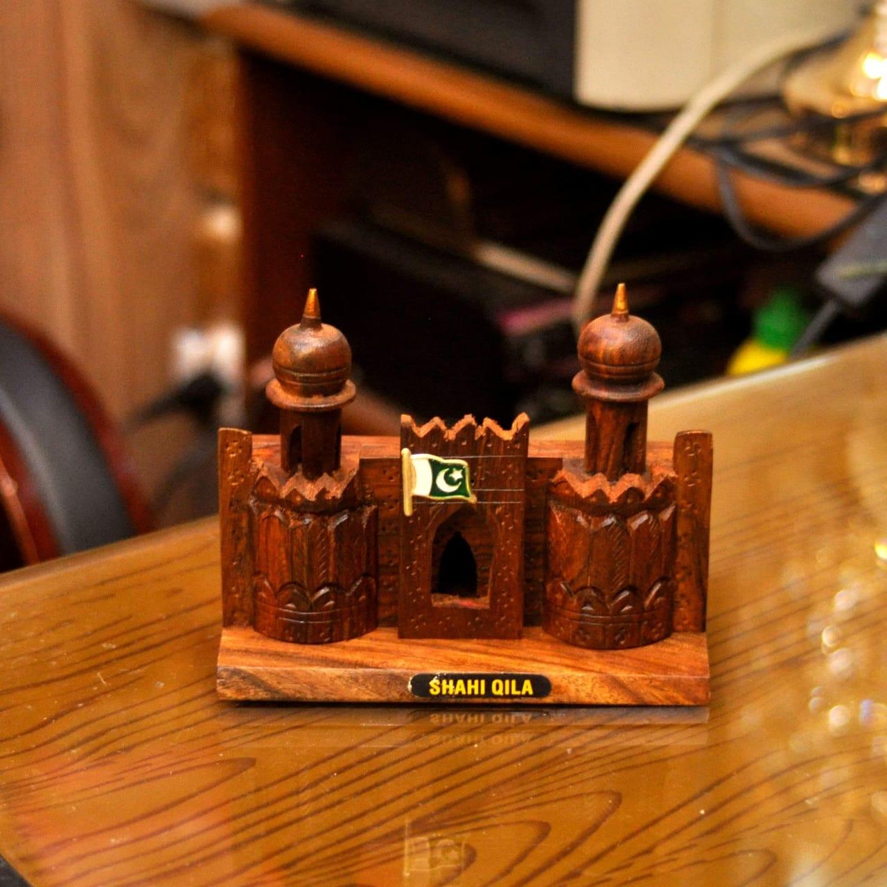 Wooden Shahi Qila Gift Item