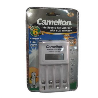 Camelion Fast Charger with LCD BC-1012