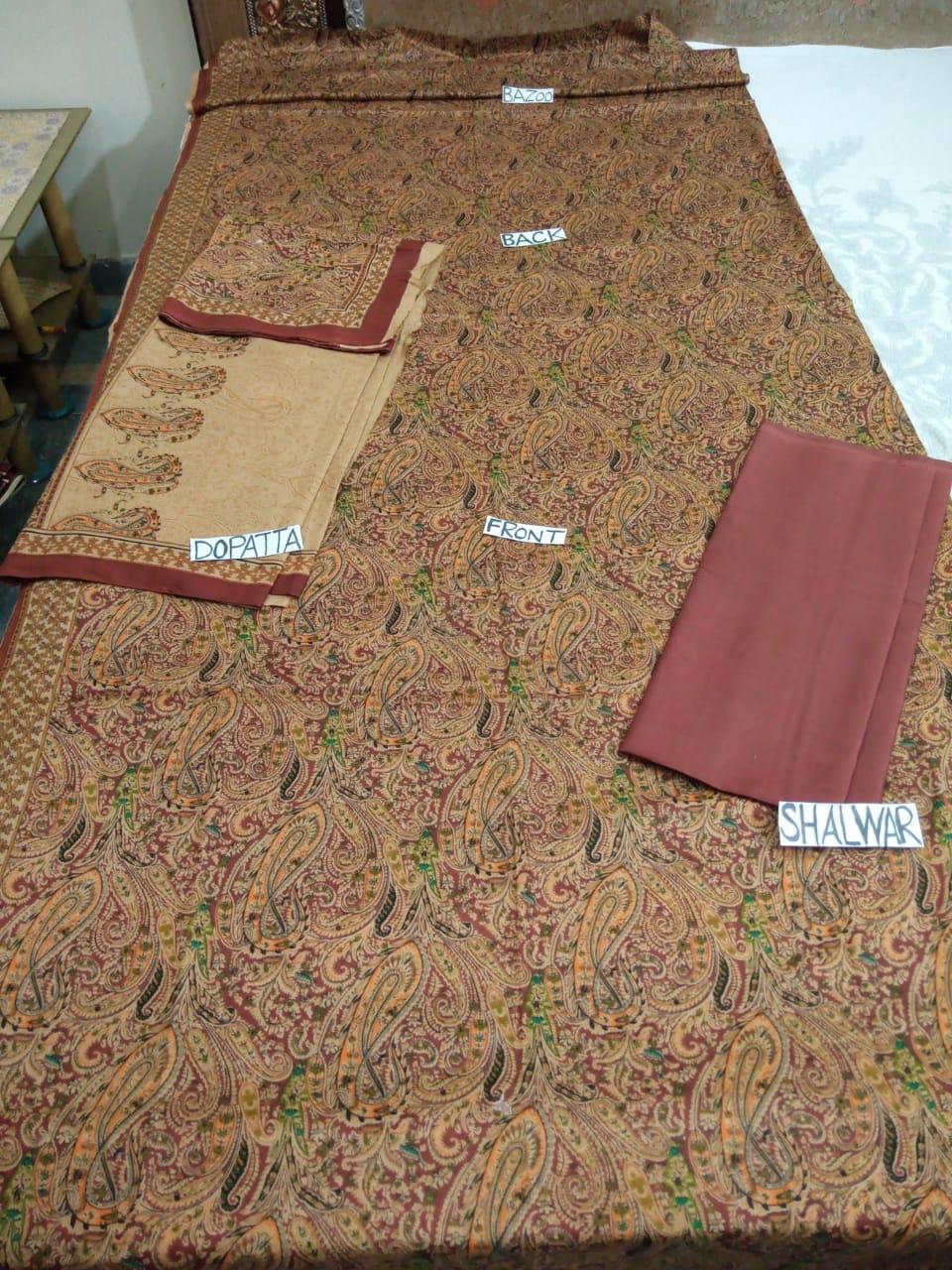3-pc Lawn Suits for Women_4