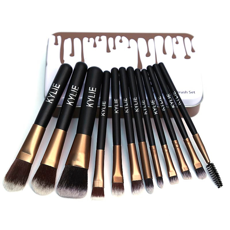 Kylie Pack Of 12 Professional Makeup Brush Set