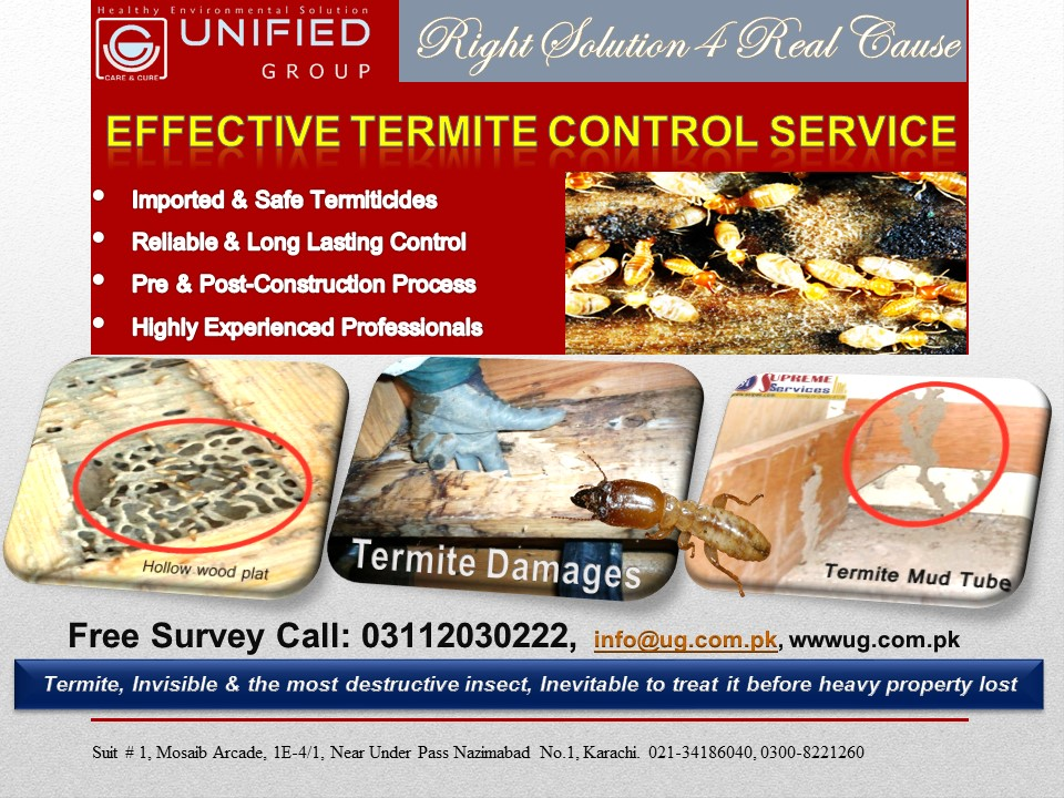 Effective Fumigation, Termite Proofing, Tank Cleaning, Seepage Control, Heat Insulation Services_1