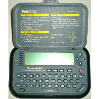 Franklin MWD-1440 Dictionary