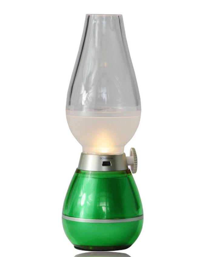 Rechargable Blow-Control Lamp