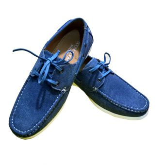 Stylish Blue Denim Loafers for Men