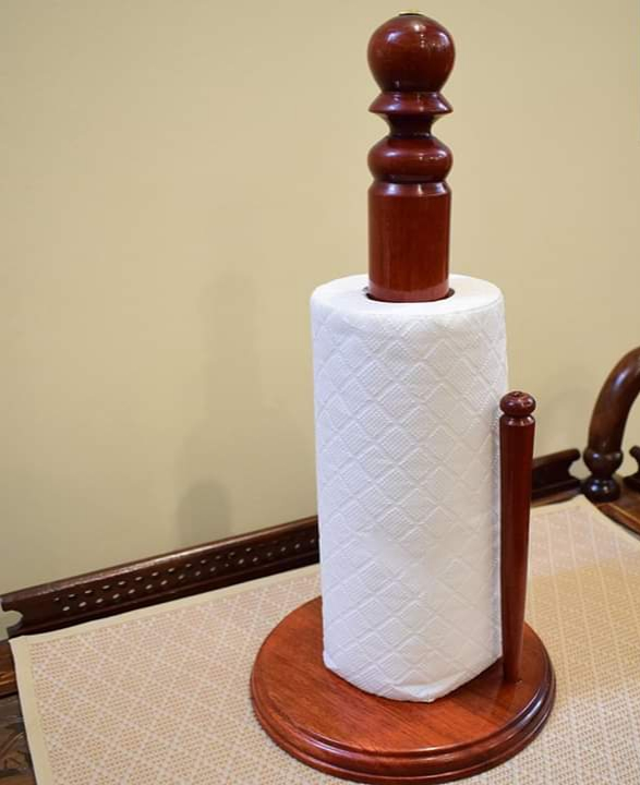 Beautiful Wooden Tissue Roll Stand