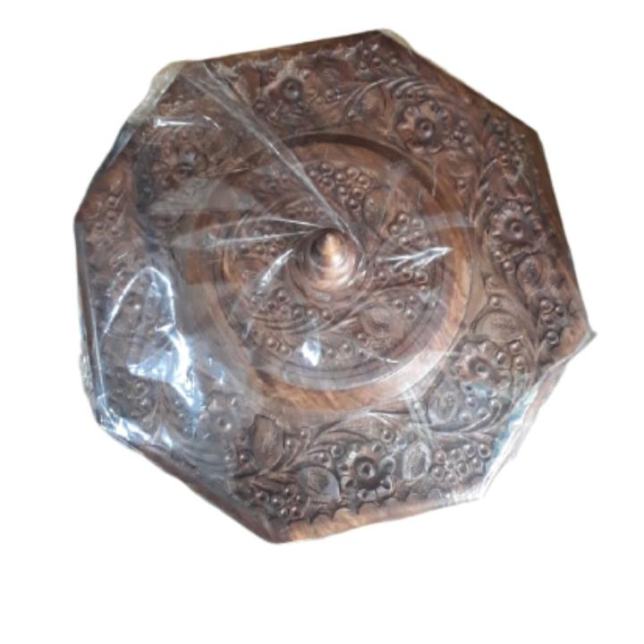 Carved Dry Fruit Bowl