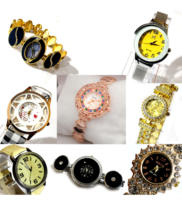 Pack of 8 Jewelry Watches