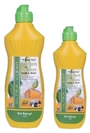 Kitchen Dish Washing Liquid Lemon