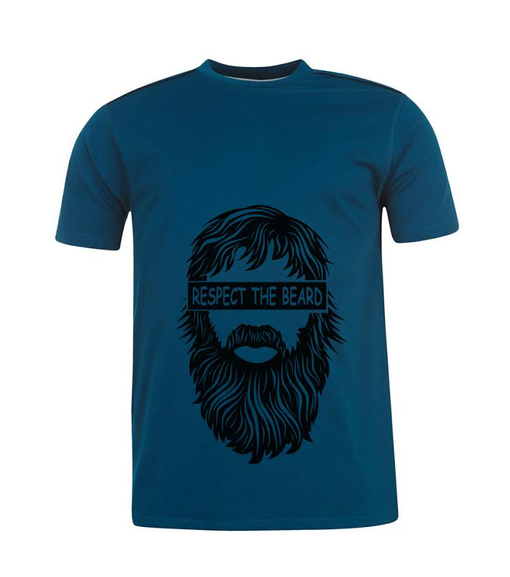 Printed T-Shirt the Beard