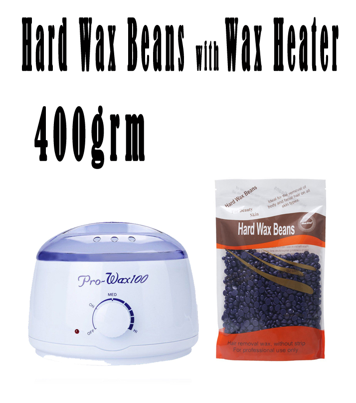 Hard Wax Beans with Wax Heater