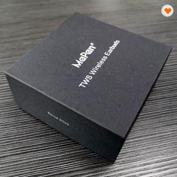 Wireless Stereo Mini In Ear Buds Magnetic Noise Canceling Hifi Sport Bluetooth Earphone