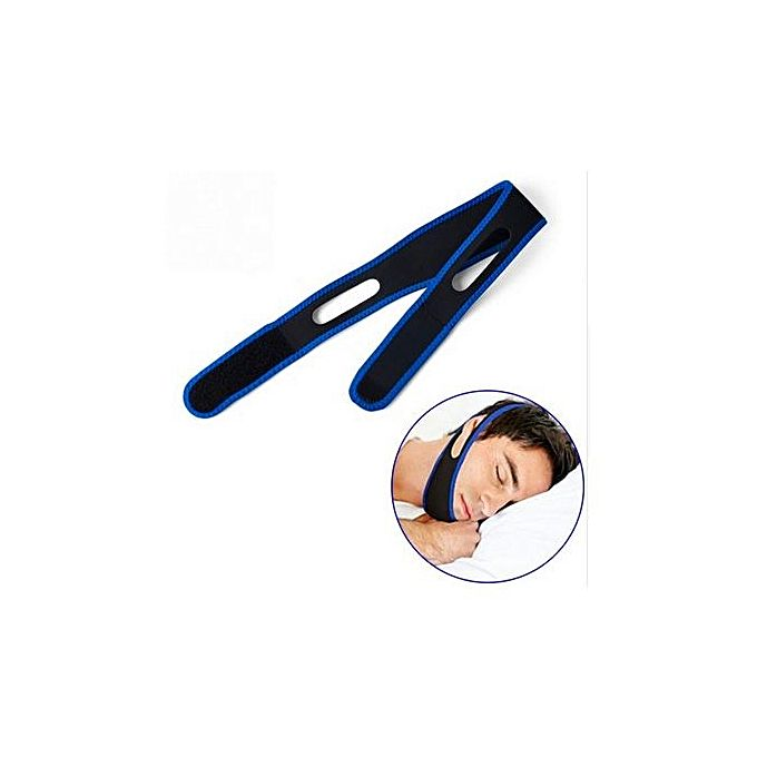 Anti Snore Chin Strap - Black_2