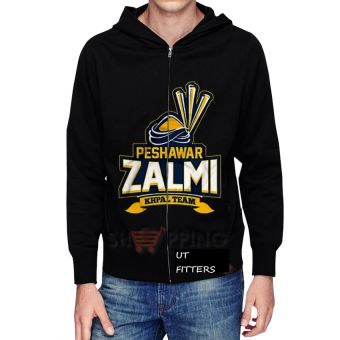Peshawar Zalmi Pakistan Super League Hoodie - Black