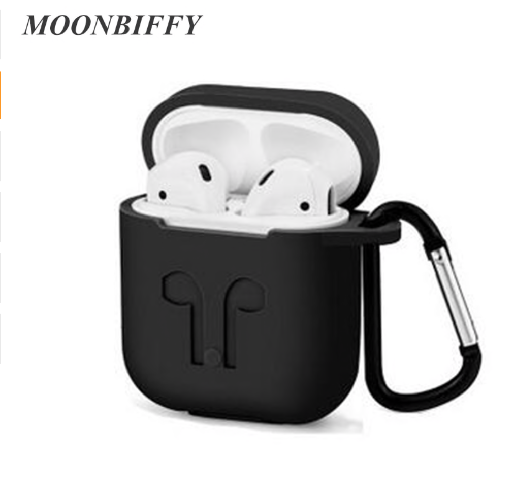 Earphone Case For Apple Airpods strap Soft Silicone Headphone Case Earphone Accessories Protective W_1