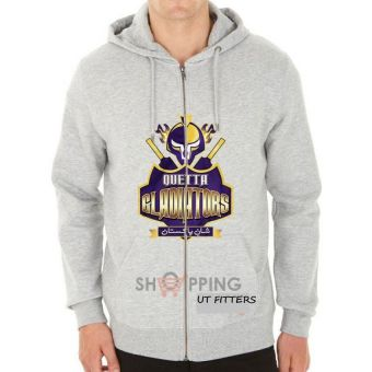 Quetta Gladiators Pakistan Super League Hoodie - Grey