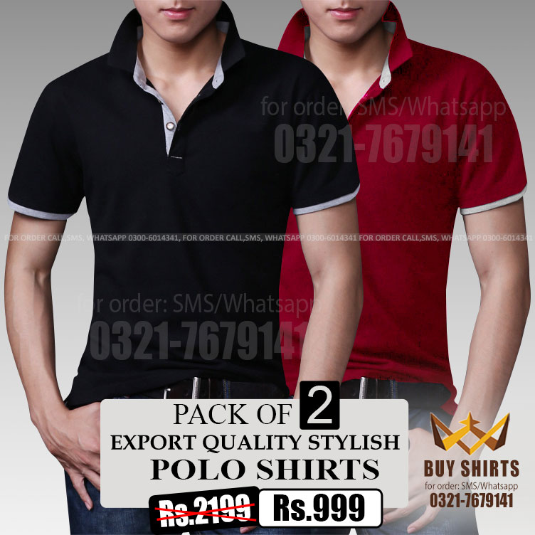Export Quality Polo Shirts