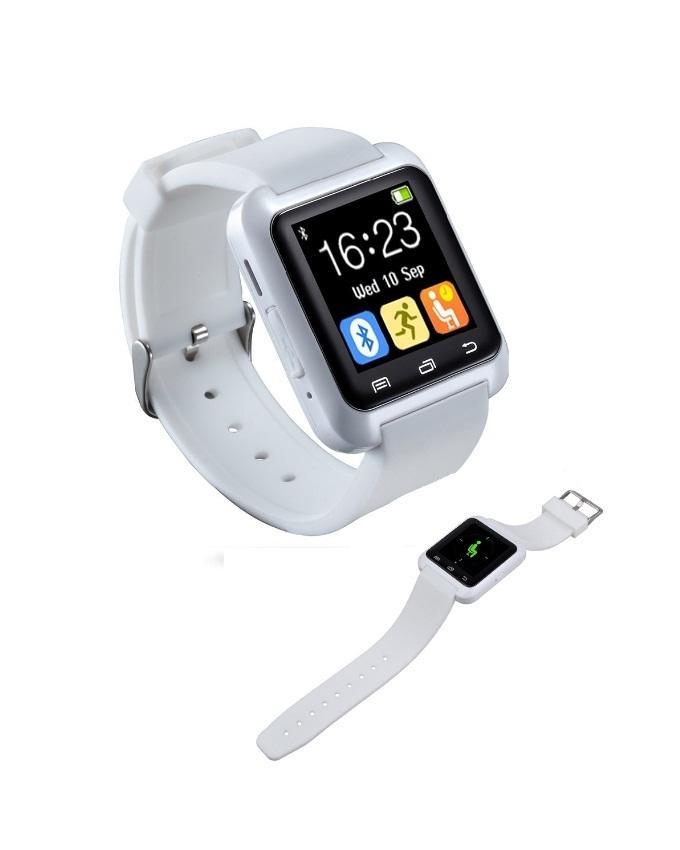 Touchscreen U8 Bluetooth Smartwatch White