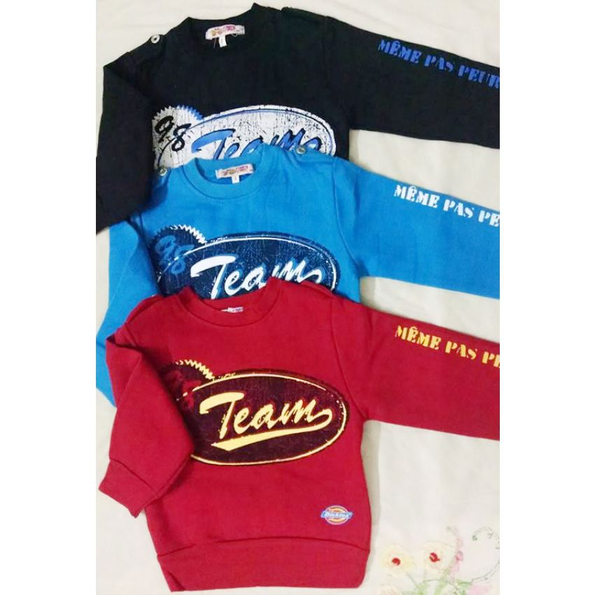 Pack Of 3 Winter T-Shirts For Boys