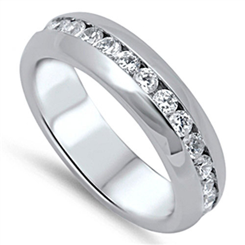 Never Fade Stainless Steel Diamond Ring + Other Ring Free Gift
