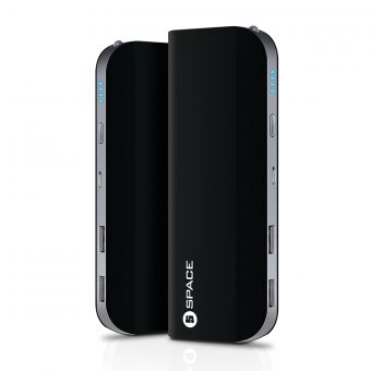 SPACE TR-007 - Power Bank 10400mAh - Black (Brand Warranty)