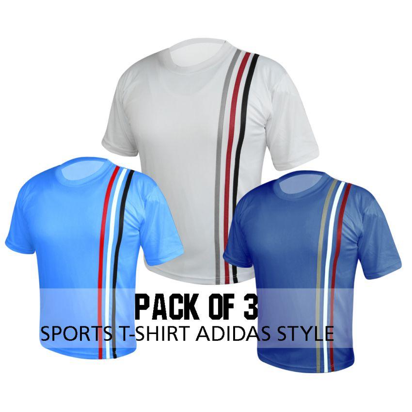 T Shirt Pack Of Three