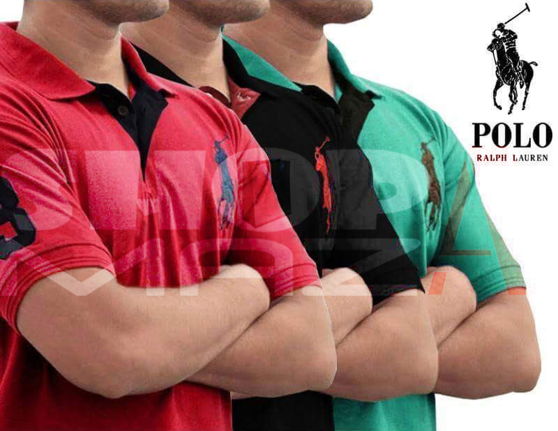 3 Polo Shirts Deal