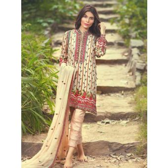 Mina Hassan Master Chiffon Embroidered Collection