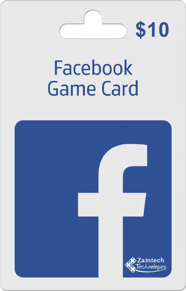 $10 FaceBook Game Card - Global