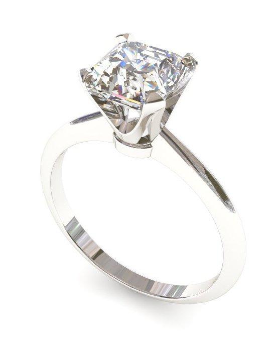 Engagement Ring + Free Ring gift