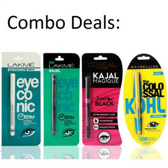 Pack of 4 Kajals for Her